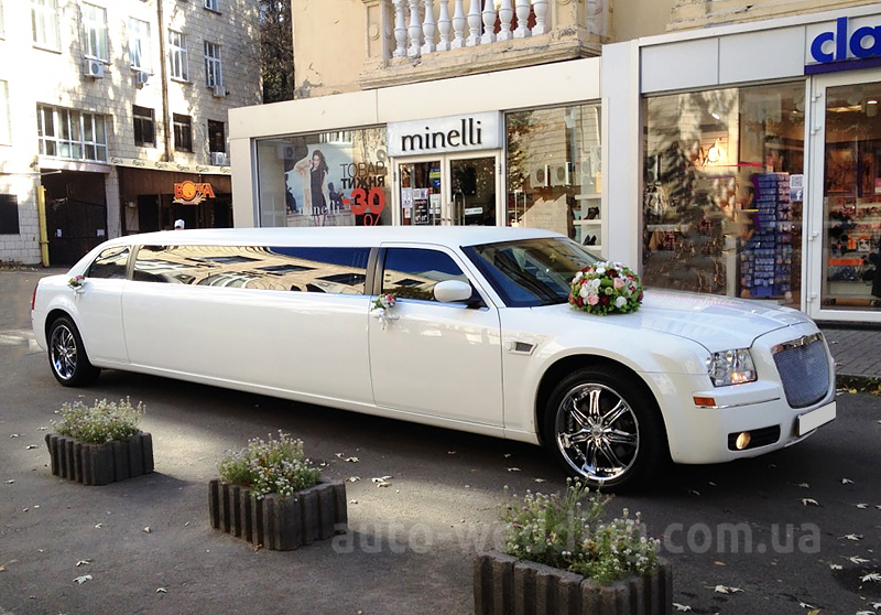 Прокат лимузина Chrysler 300C Limo