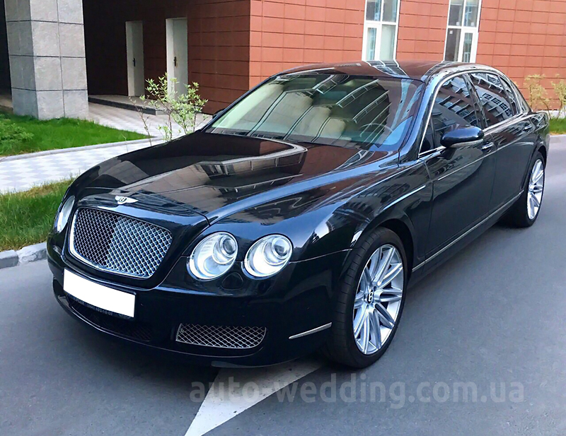 Авто на свадьбу Bentley Continental Flying Spur